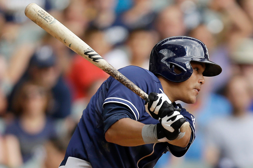 . Everth Cabrera, shorstop, San Diego Padres.  (Photo by Mike McGinnis/Getty Images)