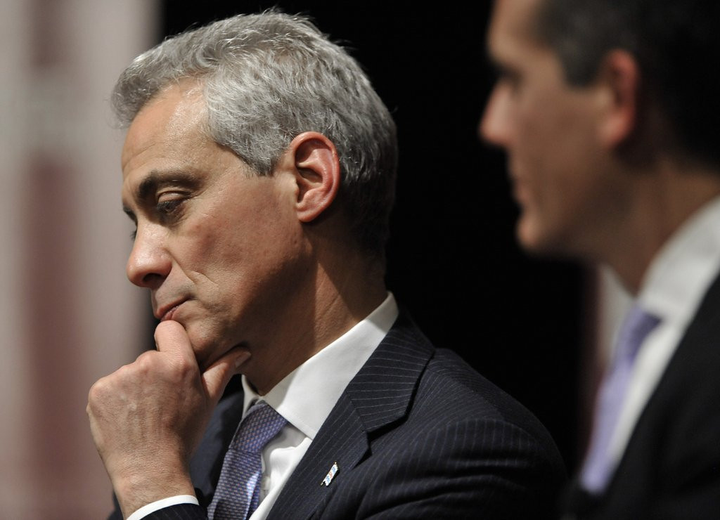 """. 7. RAHM EMANUEL: CNN tried to �present him as the star he really is.� Really. (unranked) <p><b><a href=\'http://www.chicagotribune.com/news/local/ct-rahm-emanuel-chicagoland-met-20140425,0,2516905.story\' target=\""""_blank\""""> LINK </a></b> <p>    (AP Photo/Paul Beaty,File)"""