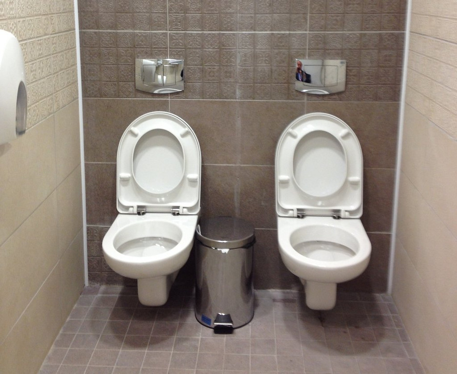 . <p><b>21. TWIN TOILETS </b> <p>The first indication we had that Sochi might turn out to be No. 2. <p>   (AP Photo/Steve Rosenberg, BBC)