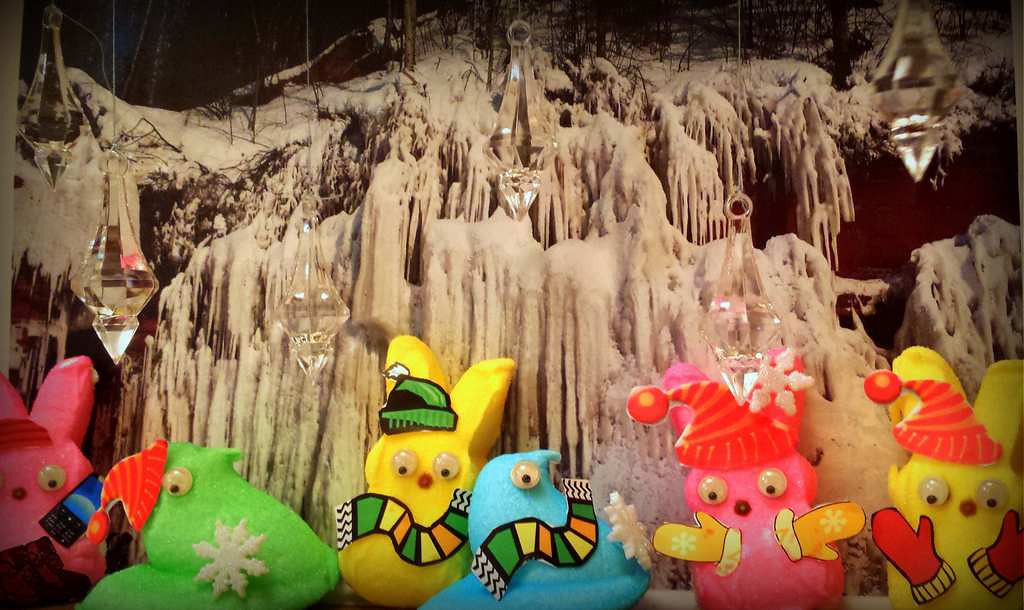 ". ""Peeps at the Ice Cave,\"" by Richard Chin"