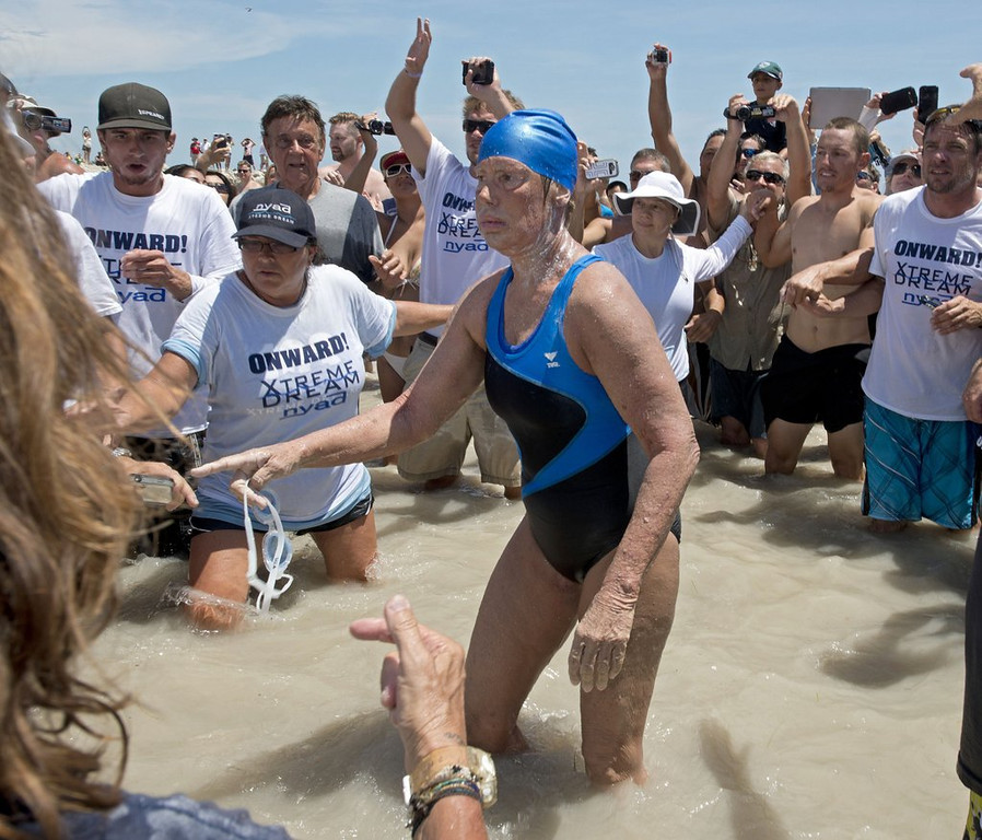 ". <p>5. DIANA NYAD <p>Her Cuba-to-Florida swim being questioned by skeptics, many of whom cannot even swim themselves. (unranked) <p><b><a href=\'http://www.twincities.com/sports/ci_24051401/diana-nyad-marathon-swimmer-meet-her-skeptics\' target=""_blank\""> HUH?</a></b> <p>    (AP Photo/Florida Keys Bureau, Andy Newman, File)"