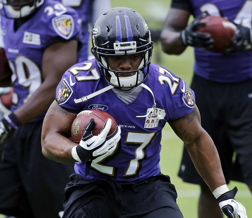 ". 2. RAY RICE <p>Suspended two games, one for each time his wife�s face hit the floor. (unranked) </p><p><b><a href=""http://www.twincities.com/vikings/ci_26209275/ravens-rb-rice-receives-2-game-suspension-from\"" target=\""_blank\""> LINK </a></b> </p><p>    (AP Photo)</p>"
