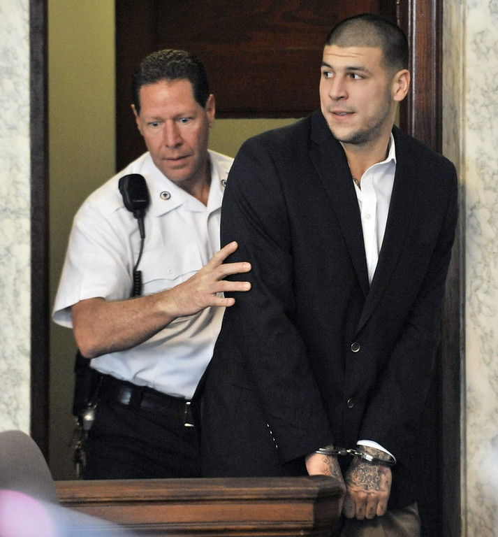 ". <p>4. AARON HERNANDEZ <p>He says he�s not guilty, and that�s probably good enough for some Patriots fans. (unranked) <p><b><a href=\'http://www.twincities.com/sports/ci_24032255/aaron-hernandez-arraigned-new-england-patriots-first-degree-murder\' target=""_blank\""> HUH?</a></b> <p>    (AP Photo/Josh Reynolds, File)"