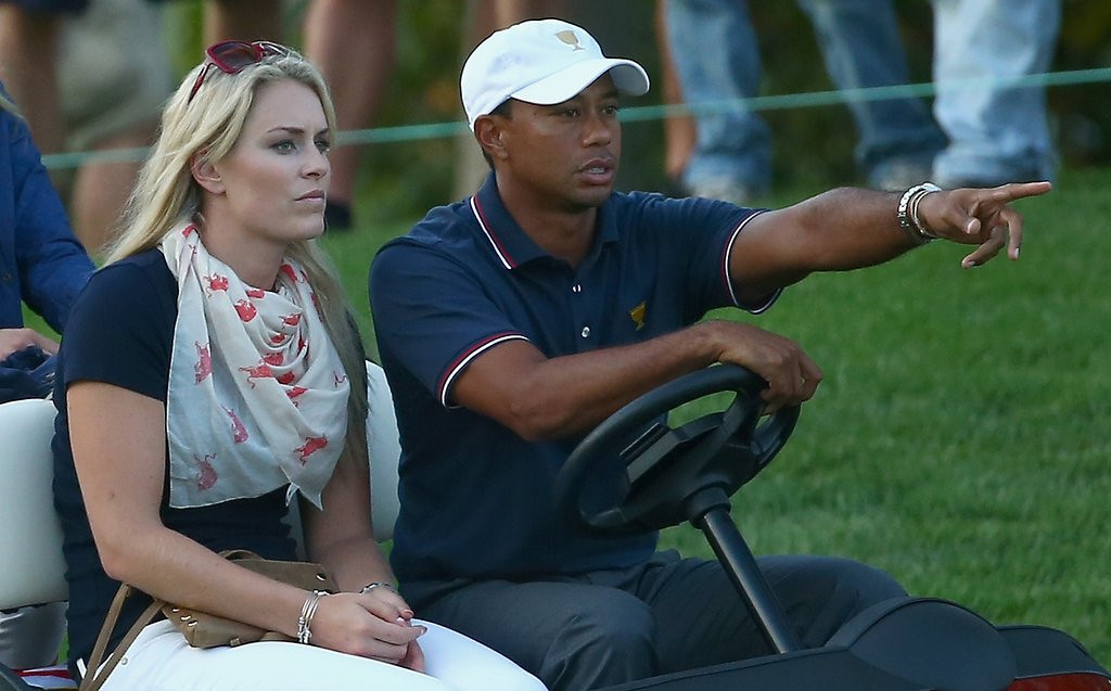 ". <p><b> Tiger Woods caused a stir Monday when he said it was �still a little too soon� to say whether he was going to � </b> <p> A. Play in the 2014 Masters <p> B. Break Jack Nicklaus� record for major championships <p> C. Leave Lindsey Vonn for another hooker <p><b><a href=\'http://espn.go.com/golf/story/_/id/10665183/tiger-woods-says-too-soon-know-able-play-masters\' target=""_blank\"">HUH?</a></b> <p>     (Andy Lyons/Getty Images)"