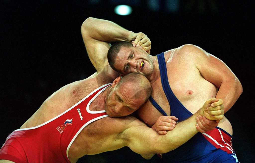 """. <p><b> Olympic officials have voted overwhelmingly to bring this back in time for the 2020 Tokyo Games � </b> <p> A. Wrestling  <p> B. Baseball  <p> C. Open bribery  <p><b><a href=\'http://www.twincities.com/sports/ci_24044812/wrestling-returning-olympics-2020-tokyo-games?source=rss\' target=\""""_blank\"""">HUH?</a></b> <p>    (Billy Stickland/Allsport)"""