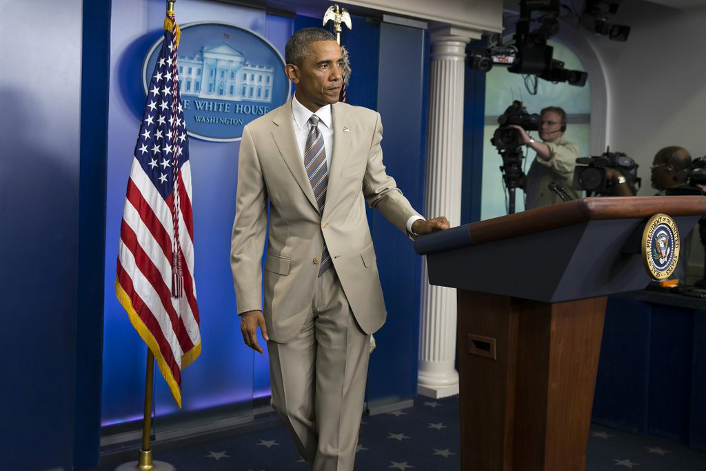 ". 3. (tie) BARACK OBAMA <p>Doesn�t have a strategy to deal with ISIS, or anything else. But he does have some snazzy new duds. (unranked) </p><p><b><a href=""http://abcnews.go.com/Politics/president-obama-strategy-fight-isis/story?id=25164105\"" target=\""_blank\""> LINK </a></b> </p><p>    (AP Photo/Evan Vucci)</p>"