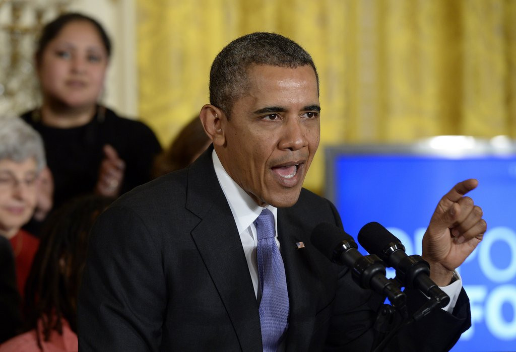 """. <p><b> Critics of President Obama this week pointed out that he has done this 442 times since taking office in 2009 � </b> <p> A. Proposed a tax hike <p> B. Criticized Republicans <p> C. Gone on vacation <p><b><a href=\'http://www.atr.org/obama-has-proposed-442-tax-hikes-taking-office\' target=\""""_blank\"""">HUH?</a></b> <p>    (AP Photo/Susan Walsh)"""