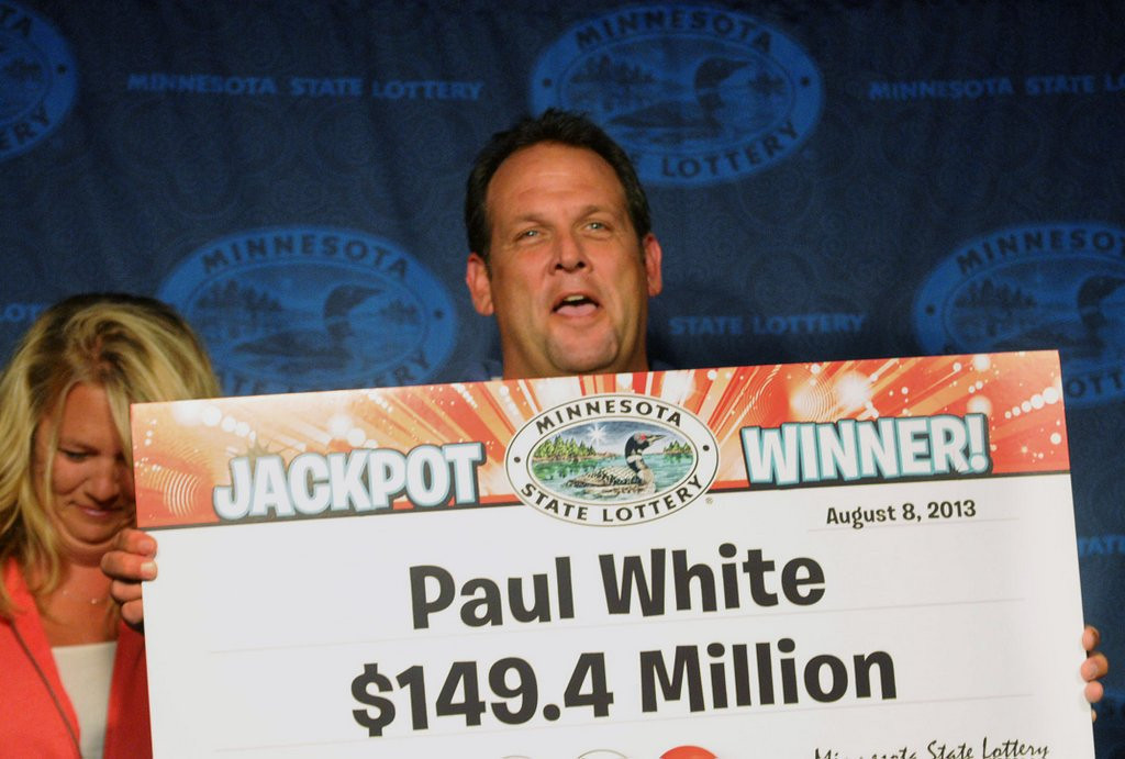 ". <p><b> A Minnesota fellow named Paul White was stunned by results of last week�s Powerball drawing that left him with � </b> <p> A. $149.4 million  <p> B. 15 minutes of fame  <p> C. 100,000 new Facebook friend requests  <p>   (Pioneer Press: Chris Polydoroff) <p><b><a href=\'http://www.twincities.com/localnews/ci_23820686/minnesota-powerball-jackpot-winner-is-states-22nd\' target=""_blank\""> HUH?</a></b>"