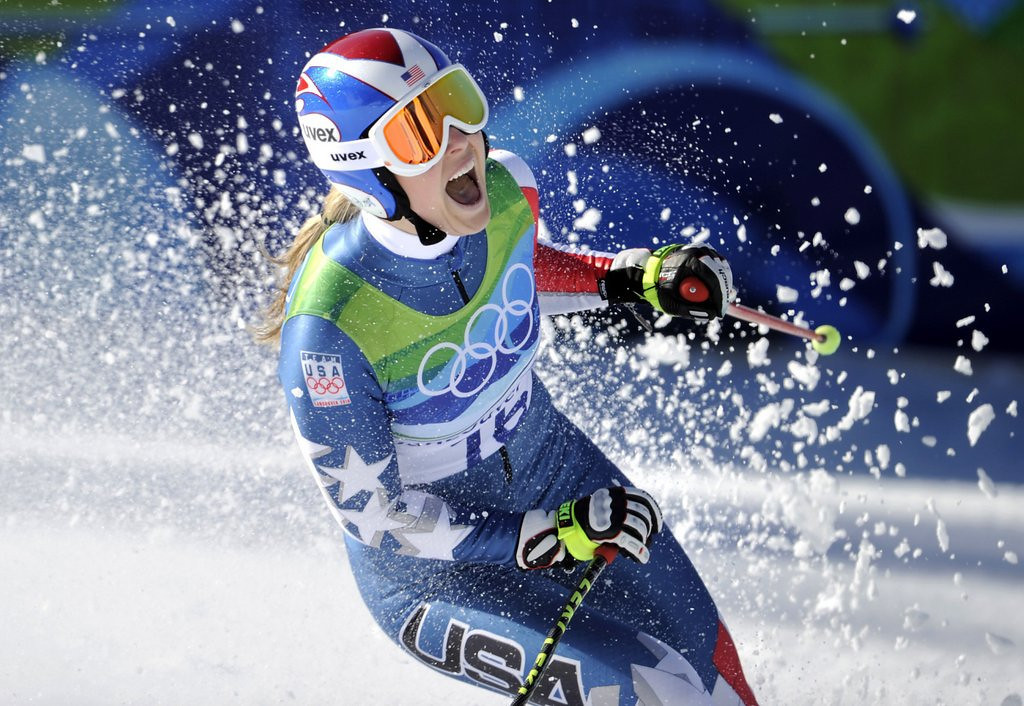 """. <p><b> Burnsville native and Olympic skiing gold medalist Lindsey Vonn, with no doubt a heavy heart, announced Tuesday that she will not be taking part in � </b> <p> A. The Sochi Games <p> B. The world championships <p> C. Tiger Woods� next three orgies <p><b><a href=\'http://www.twincities.com/sports/ci_24860162/lindsay-vonn-miss-sochi-olympics-due-knee-injury\' target=\""""_blank\"""">HUH?</a></b> <p>    (AP Photo/Gero Breloer, File)"""