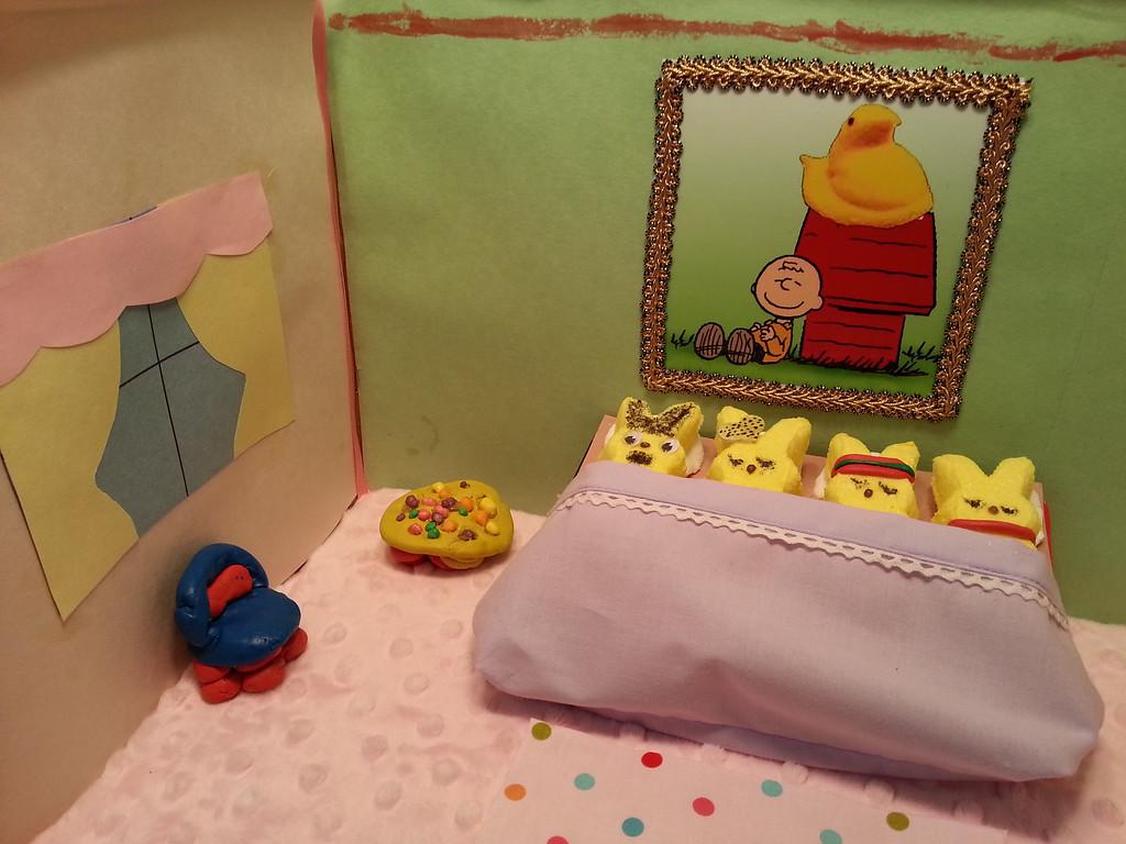 ". \""No Sleep For Baby Peep,\"" by Ella Glaeser"