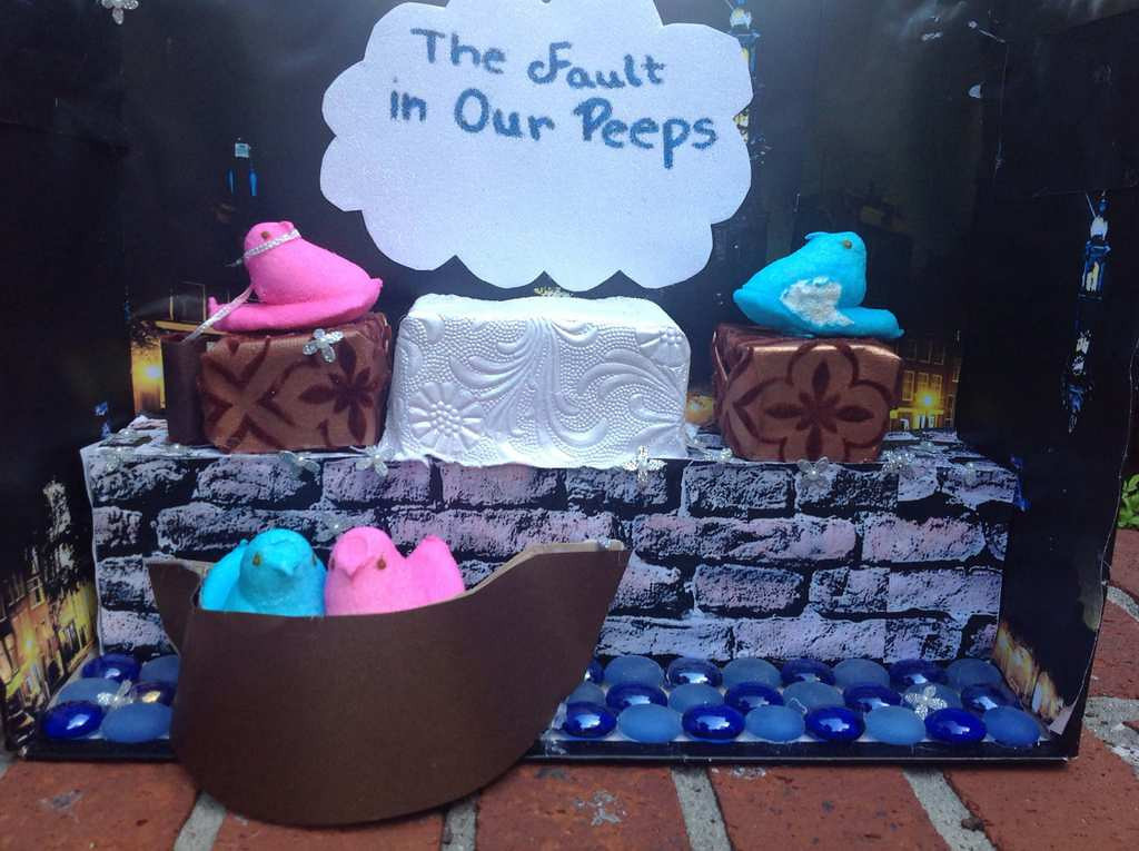 ". ""The Fault in Our Peeps,\"" Mary Dickey"