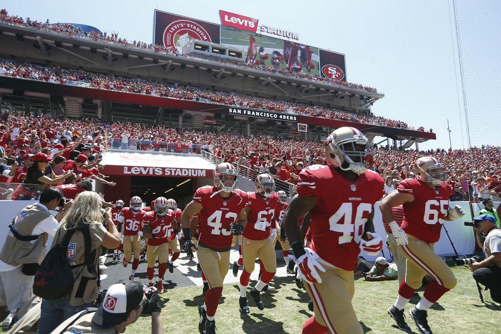 ". <p><b>SAN FRANCISCO 49ERS</b> </p><p><i>�Field of Bad Dreams�</i> </p><p>The Niners� new pad </p><p>Cost a billion, just rad! </p><p>The priciest stadium on Earth </p><p>Then why all the lumps? </p><p>All the grass turned to clumps? </p><p>Cause they spent just two dollars on turf <br></p><p>PREDICTION: <b>12-4 � Second place in NFC West, wild card </b> </p><p><b><a href=""http://www.mercurynews.com/southbayfootball/ci_26403287/49ers-rip-out-levis-stadium-field-again-larger\"" target=\""_blank\""> LINK </a></b> </p><p>    (Nhat V. Meyer/Bay Area News Group/MCT)</p>"