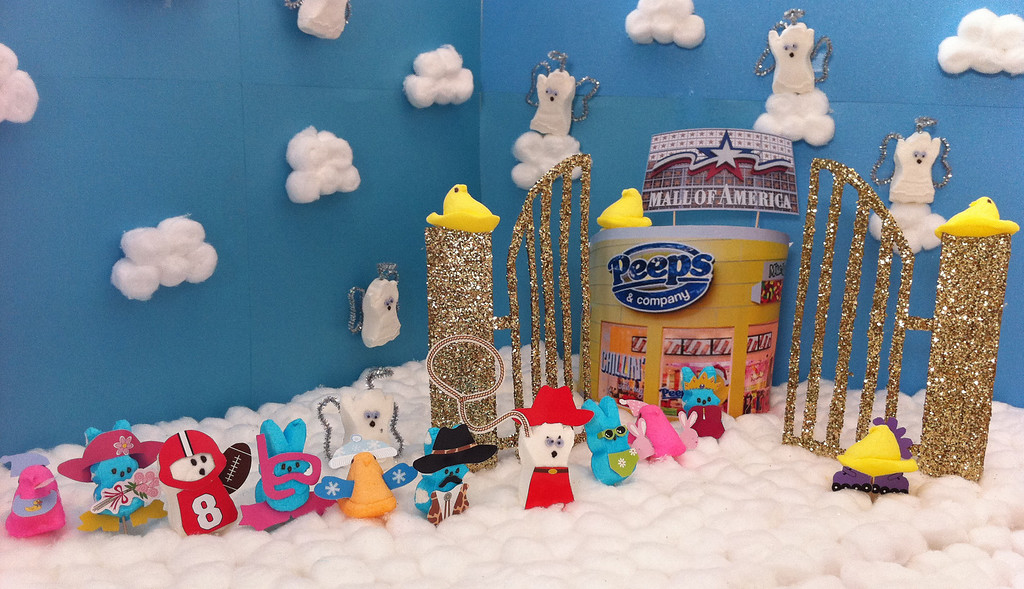 """. \""""Proof that Peeps are Heaven on Earth,\"""" by Melissa Grass, St. Paul"""