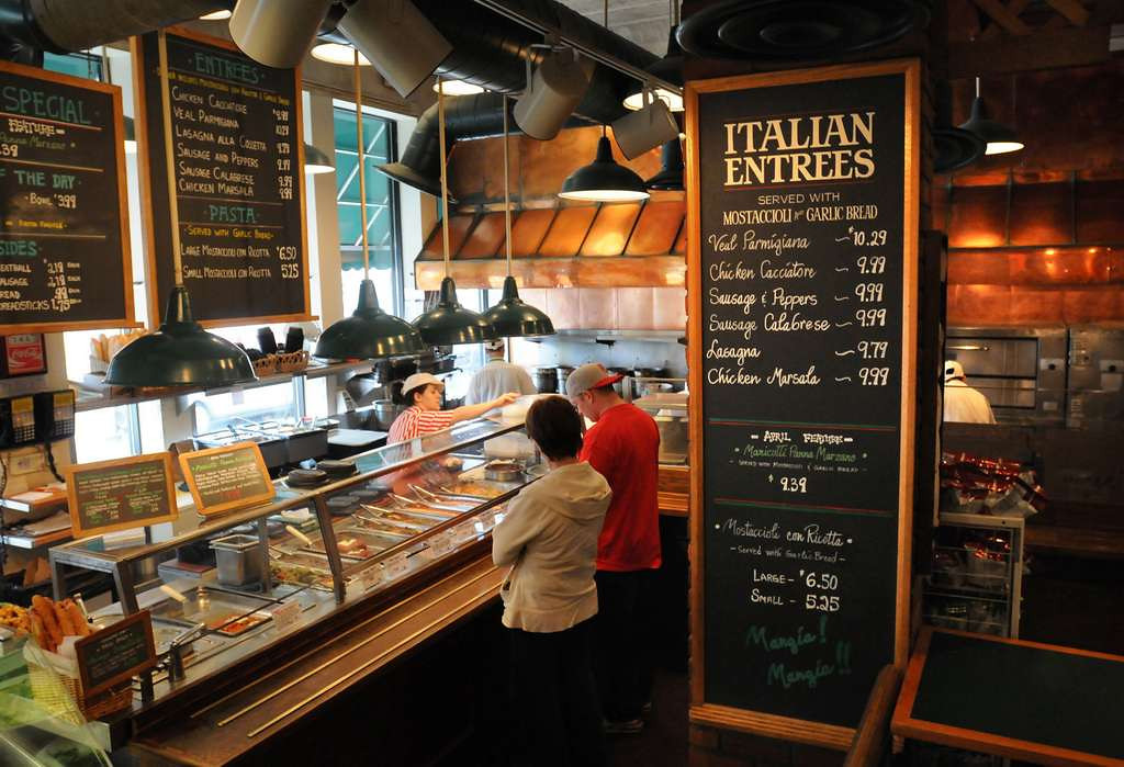 . You betcha, I must regularly buy fresh mozzarella from Cossetta�s to make caprese salads to be eaten outdoors, preferably at Como. <p>-- By movie critic Chris Hewitt <p>-- Photo by Chris Polydoroff, Pioneer Press