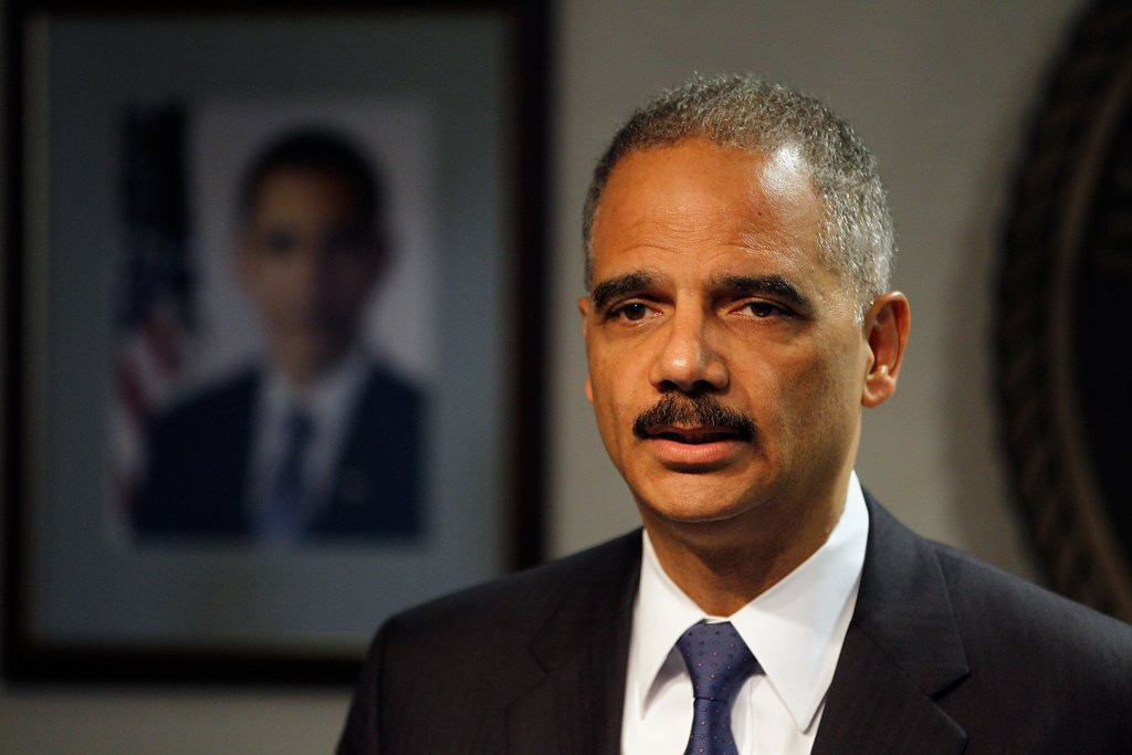 ". <p><b> Attorney General Eric Holder made headlines Monday when he proposed significantly lighter prison sentences for ... </b> <p> A. Some drug offenses  <p> B. Immigration violations  <p> C. Leaking IRS records of Republicans  <p>   (Chris Graythen/Getty Images) <p><b><a href=\'http://www.twincities.com/ci_23843218/attorney-general-eric-holder-drug-crime-sentences\' target=""_blank\""> HUH?</a></b>"
