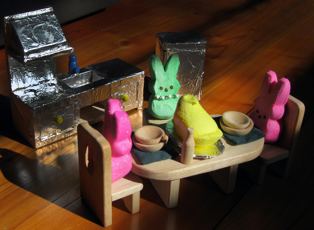 """. \""""Julia Child: The Peep Chef,\"""" by Claudia Beck, Osceola, Wis."""