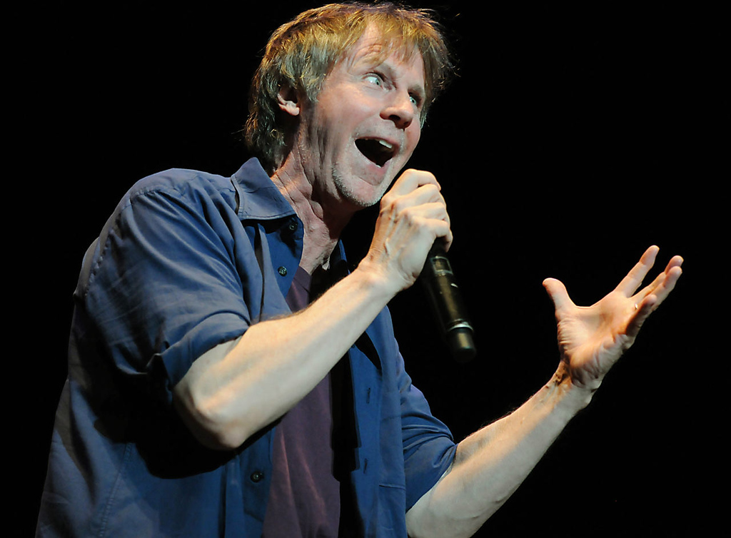 . Comedian and actor Dana Carvey does an impression of President Obama. (Pioneer Press: John Autey)