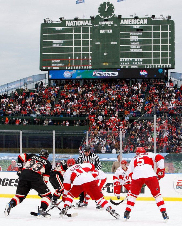 ". <p>10. (tie) NHL WINTER CLASSIC <p>Chicago gets a SECOND outdoor game before Minnesota gets its first? What the hell!?!?! (previous ranking: unranked) <p><b><a href=\'http://www.forbes.com/sites/jesselawrence/2014/02/26/blackhawks-tickets-at-soldier-field-second-most-expensive-outdoor-game-this-season/\' target=""_blank\""> HUH?</a></b> <p>   (Jamie Squire/Getty Images)"