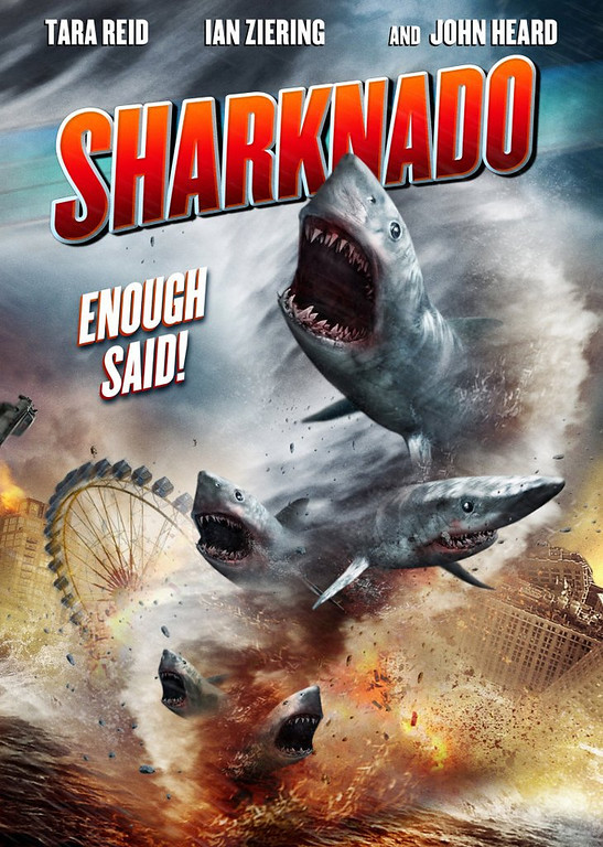. <p>4. SHARKS <p>Despite �Jaws� hype, not too dangerous unless combined with tornadoes.   (SyFy Channel)