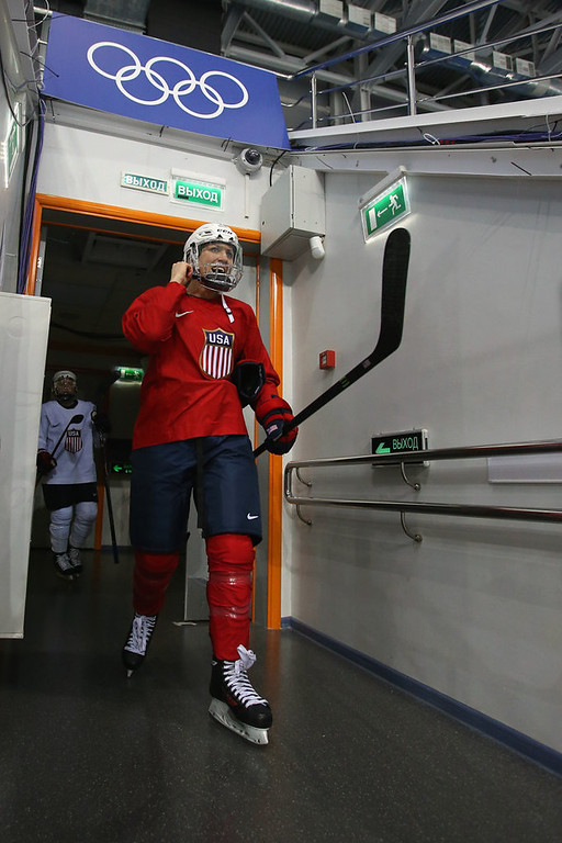 . �You don�t train this hard for second place; gold has been on our minds since Day 1,� said U.S. captain Meghan Duggan.  (Getty Images: Bruce Bennett)