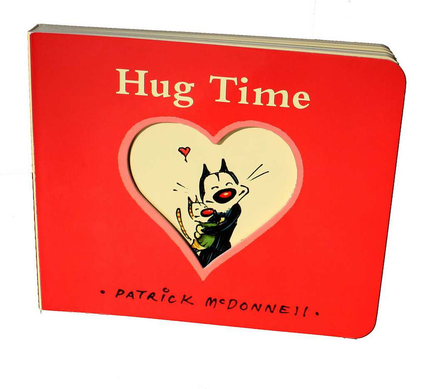. The New York Times Bestseller �Hug Time� ($7) is a fun read about how simple love can be. Available at select Patina shops and patinastores.com.