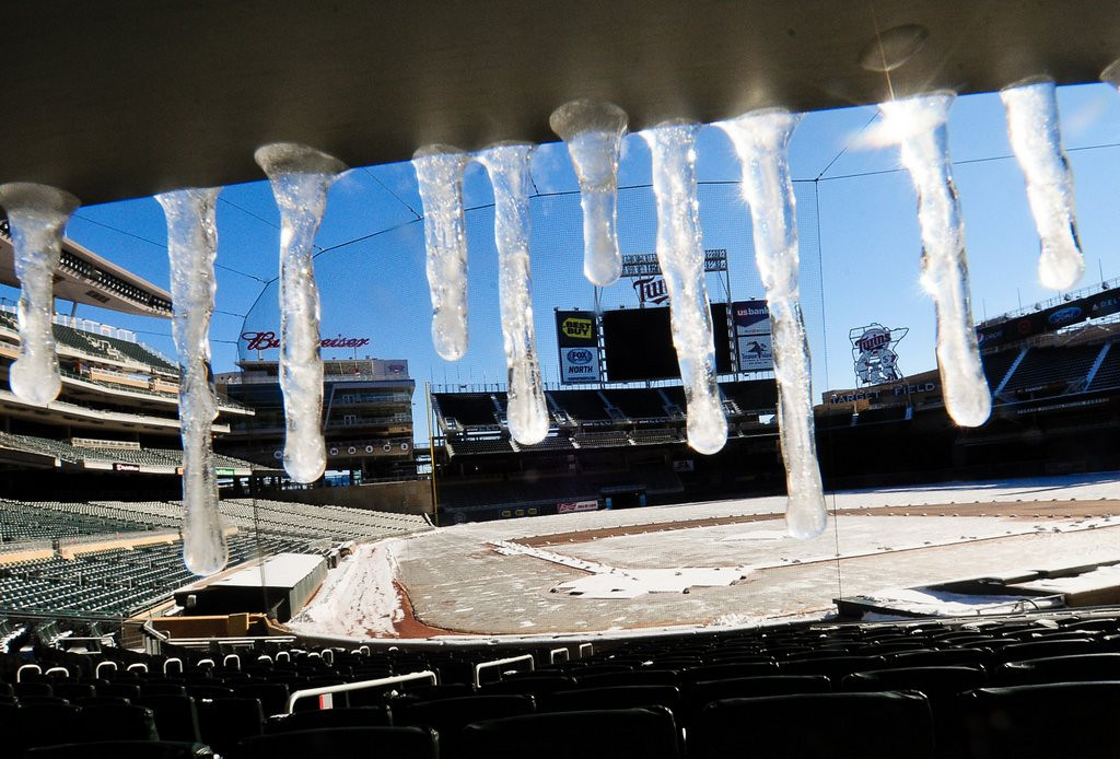 """. <p><b> Target Field officials are excited at reports they�ll be hosting this for one day in 2015� </b> <p> A. NHL�s Winter Classic  <p> B. Baseball�s All-Star Game  <p> C. A winning team from Minnesota  <p><b><a href=\'http://www.fannation.com/truth_and_rumors/view/399933-winter-classic-headed-to-target-field\' target=\""""_blank\"""">HUH?</a></b> <p>   (Pioneer Press: Ben Garvin)"""