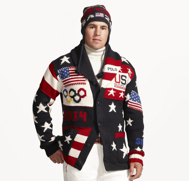 """. <p><b> U.S. Olympic fans were a bit chagrined last week when they got a load of the Americans� opening ceremonies uniforms, which were designed by� </b> <p> A. Ralph Lauren <p> B. Bill Cosby <p> C. Stevie Wonder <p><b><a href=\'http://www.twincities.com/sports/ci_24977390/zach-parise-fashion-model-wild-star-shows-off\' target=\""""_blank\"""">HUH?</a></b> <p>  <br> <p><b>ANSWERS</b> <p> The correct answer is always \""""A\"""" ... unless you feel very strongly otherwise. <p> <br><p> You can follow Kevin Cusick at <a href=\'http://twitter.com/theloopnow\'>twitter.com/theloopnow</a>.   (AP Photo/Ralph Lauren)"""