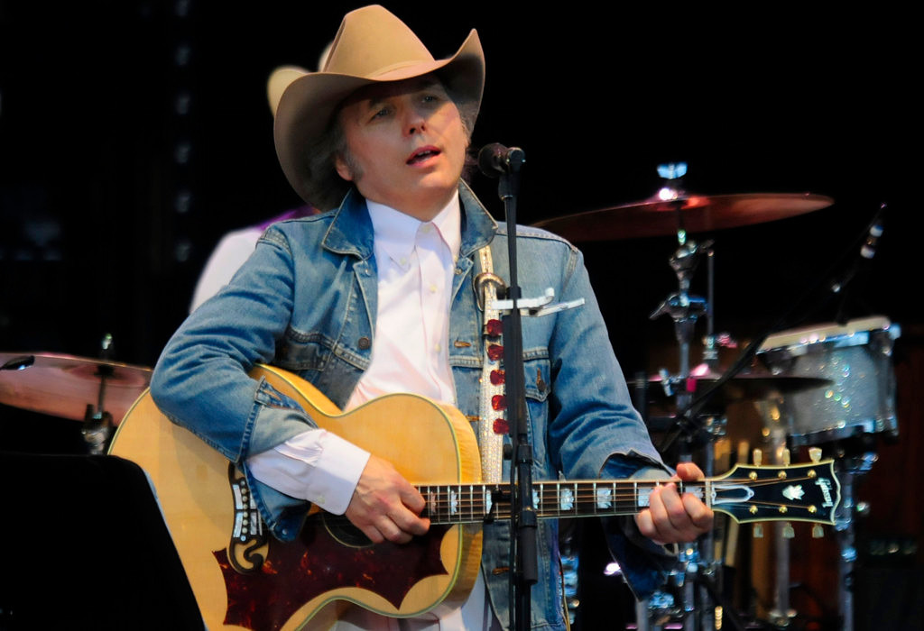 """. Dwight Yoakam and his band played at the Minnesota State Fair Grandstand  prior to Sheryl Crow on  Sunday night, August 25, 2013.  The American singer/songwriter, actor and film director, is best known for his country music and  two-time Grammy Award winner was recently nominated for Artist of the Year in the 2013 Americana Honors and Awards.  Yoakam has had more than 30 singles on the \""""Billboard Hot Country Songs\"""" charts such as \""""Honky Tonk Man,\"""" \""""Please Please Baby,\"""" \""""Little Ways\"""" and \""""I Sang Dixie.\"""" (Pioneer Press: Scott Takushi)"""
