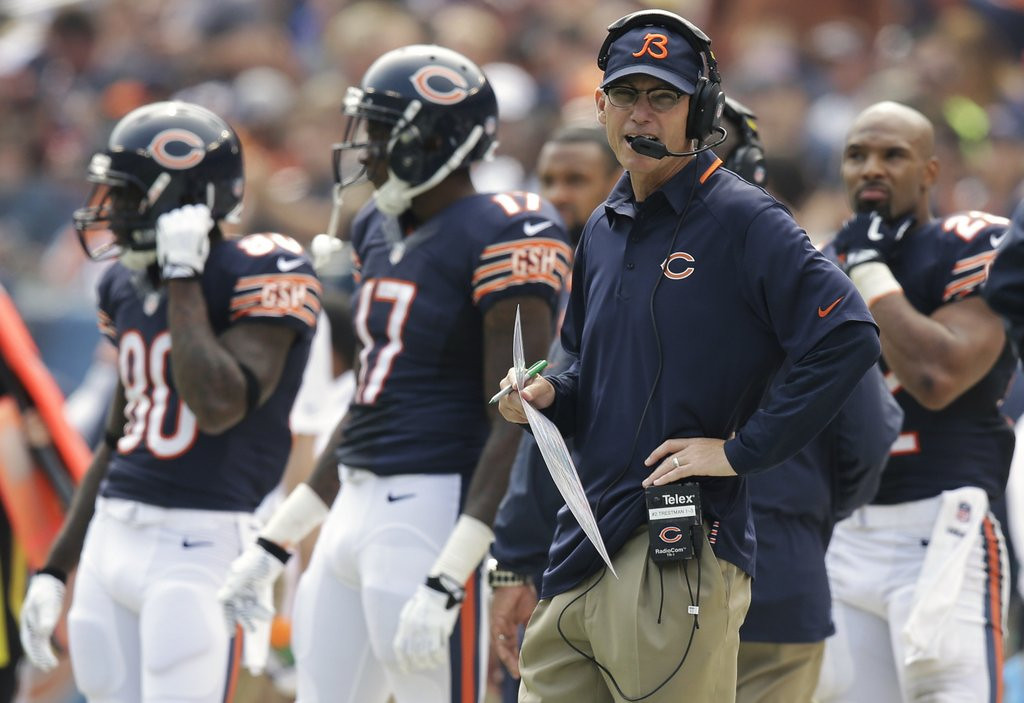 . <p><b> Vikings at Bears (-6):</b>  <p>Chicago�s Marc Trestman coaches for the first time ever against the Vikings, for whom he served as quarterbacks coach in 1990 and 1991. That was in those long ago days when the Vikings had quarterbacks who responded to coaching. <p>Pick: <b>Bears by 7</b> <p>    (AP Photo/Nam Y. Huh)