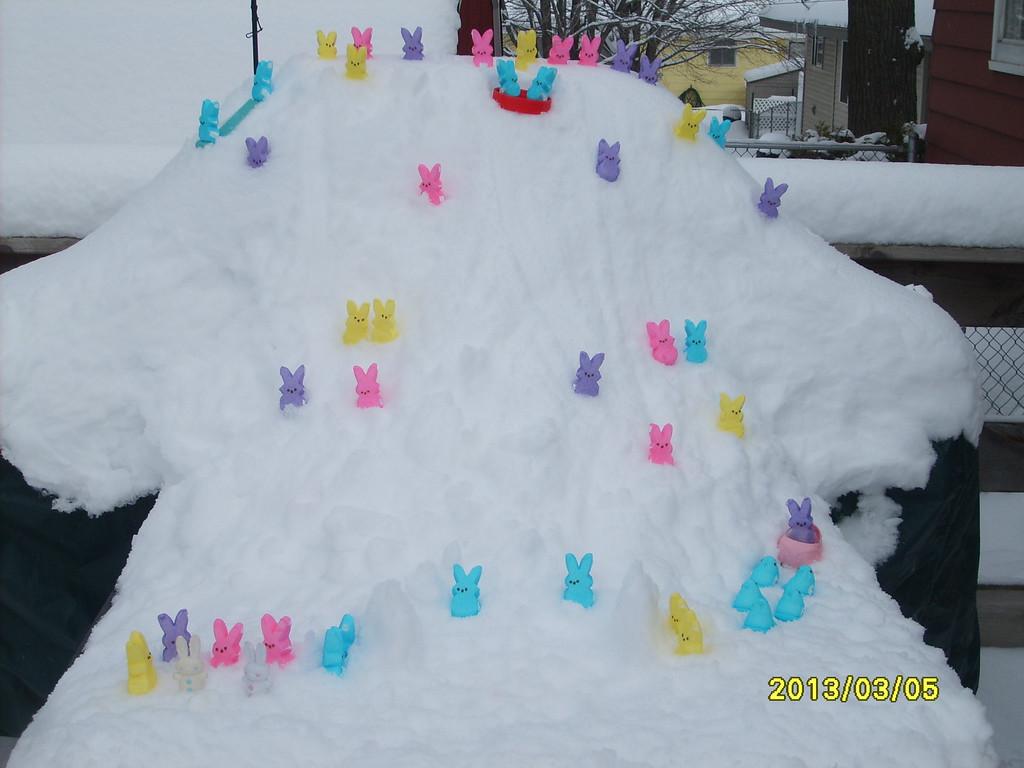 ". \""Peeps Winter Wonderland,\"" by Dawn B."