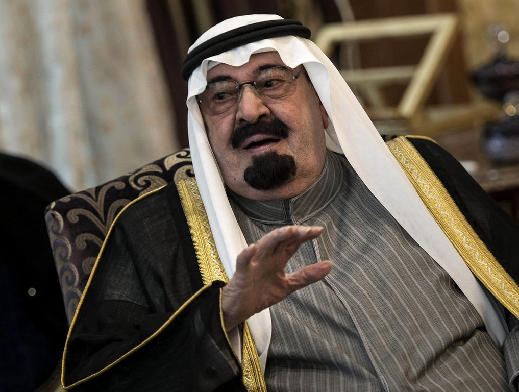 """. <p>9. KING ABDULLAH <p>The royal daughters can check out any time they like, but they can never leave. (unranked) <p><b><a href=\'http://www.dailymail.co.uk/news/article-2576600/Prisoners-palace-Saudi-princesses-plead-help-claim-held-king-against-will.html\' target=\""""_blank\""""> HUH?</a></b> <p>   (AP Photo/Brendan Smialowski, Pool, File)"""