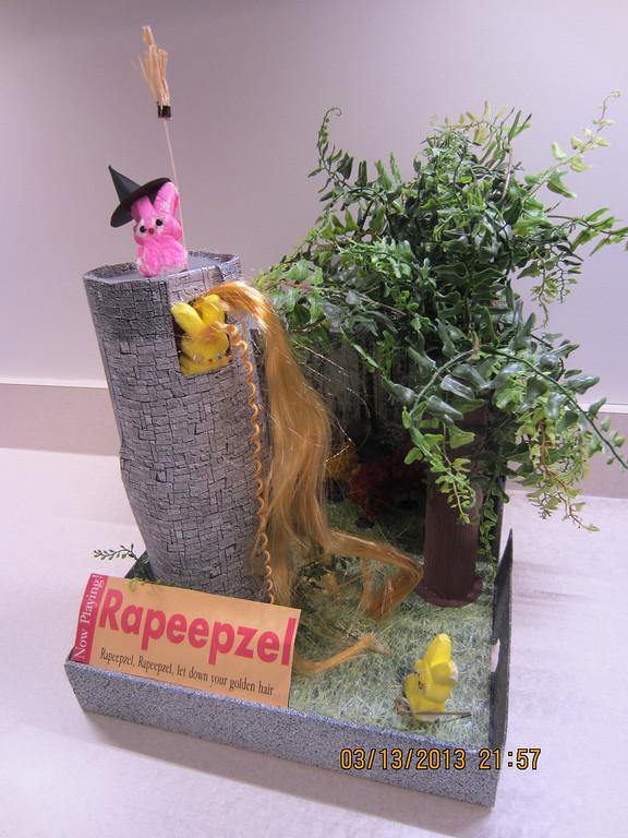""". \""""Rapeepzel,\"""" by Sue McNeill, Minneapolis"""