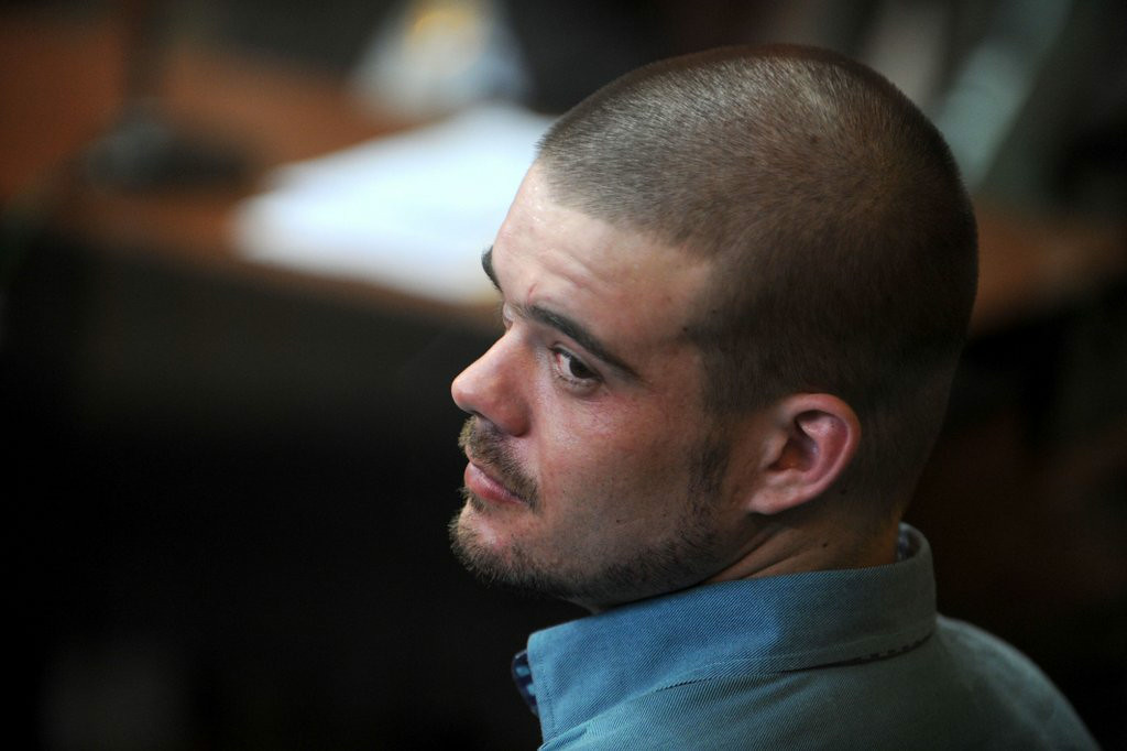 """. 10. (tie) JORAN VAN DER SLOOT <p>A hunger strike isn�t such a killer idea if, say, you actually are a killer. (unranked) </p><p><b><a href=\""""http://www.bbc.com/news/world-latin-america-28935900\"""" target=\""""_blank\""""> LINK </a></b> </p><p>    (Ernesto Benavides/AFP/Getty Images)</p>"""