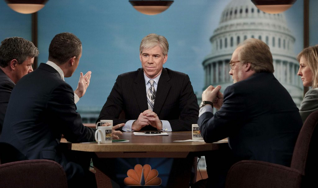 ". <p><b> David Gregory is out as the host of NBC�s �Meet the Press,� but he reportedly is being paid $4 million to � </b> </p><p> A. Sign a confidentiality agreement </p><p> B. Return to his job as White House correspondent </p><p> C. Wash Chuck Todd�s Prius every Tuesday </p><p><b><a href=""http://www.twincities.com/tvradio/ci_26337196/gregory-im-leaving-meet-press-and-nbc\"" target=\""_blank\"">LINK</a></b> </p><p>   (Brendan Smialowski/Getty Images for Meet The Press)</p>"