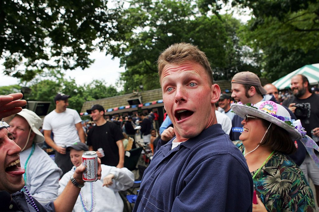 """. <p>7. DRUNKEN FANS <p>How do they limit all those time-wasting bathroom breaks? Depends. (9) <p><b><a href=\'http://www.sportingnews.com/nfl/story/2013-08-25/fan-runs-on-field-49ers-vikings-video-preseason-san-francisco-candlestick-park\' target=\""""_blank\""""> HUH?</a></b> <p>    (Ezra Shaw/Getty Images)"""