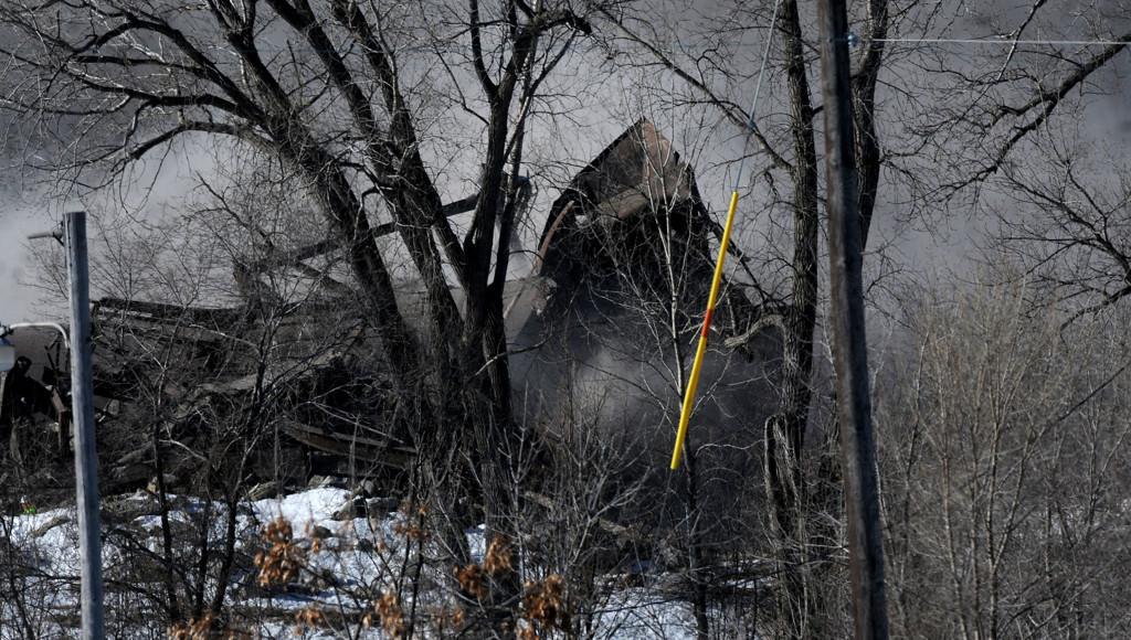 . The scene after demolition crews took down the Island Station coal power plant.  (Pioneer Press: Sherri LaRose-Chiglo)