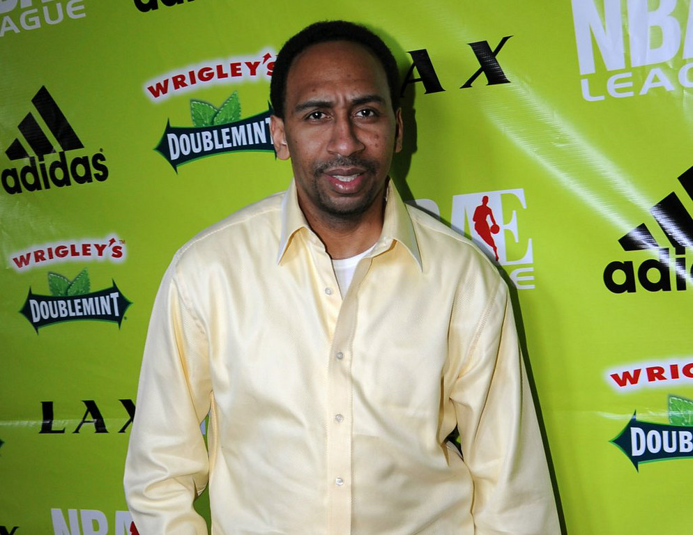 ". 6. STEPHEN A. SMITH <p>ESPN host suspended for violating high journalistic standards of �First Take.� Or not. (unranked) </p><p><b><a href=""http://www.washingtonpost.com/blogs/erik-wemple/wp/2014/07/30/espns-action-on-stephen-a-smith-useless/\"" target=\""_blank\""> LINK </a></b> </p><p>    (Noah Graham/NBAE via Getty Images)</p>"