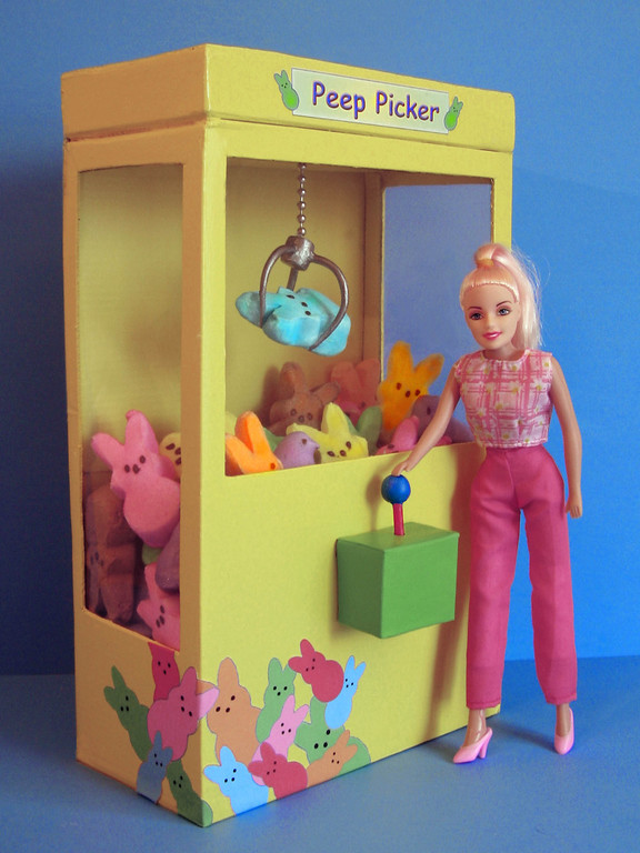 """. \""""Barbie Caught a Peep,\"""" by Ron Young, Shoreview"""