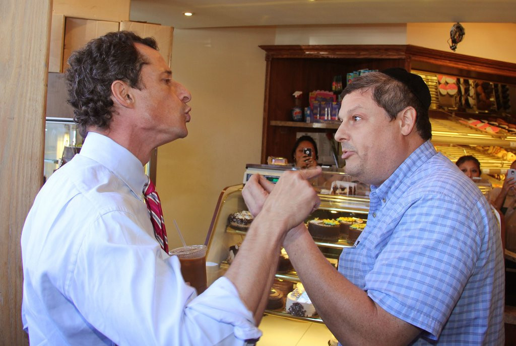 ". <p>9. ANTHONY WEINER  <p>�This thing was always about me,� the New York mayoral candidate says. And his junk. (unranked) <p><b><a href=\'http://www.politico.com/story/2013/09/anthony-weiner-mayoral-win-chances-good-96460.html?hp=r3\' target=""_blank\""> HUH?</a></b> <p>    (AP Photo/Shimon Gifter)"