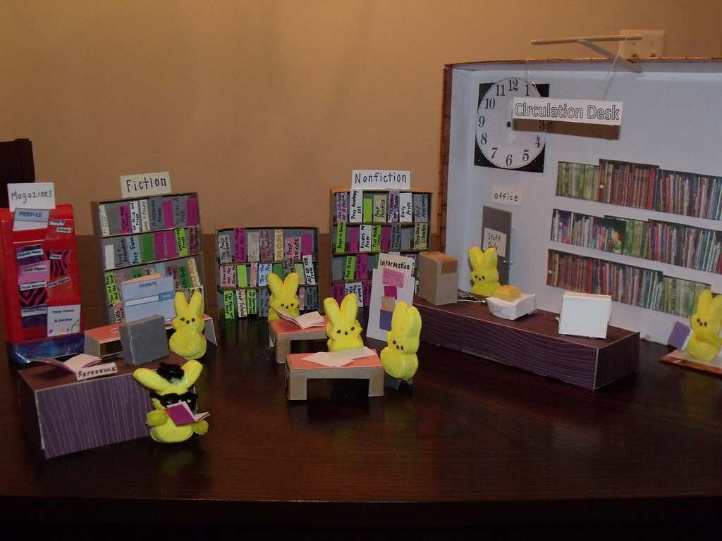 ". ""A Library for the Peep-le,\"" by Lisa Ferrara"