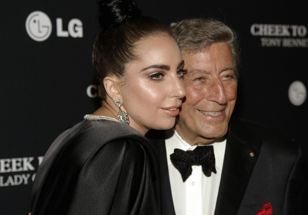 ". 9. LADY GAGA & TONY BENNETT  <p>This confirms it: She will grind on anyone and anything. (4) </p><p><b><a href=""http://www.nydailynews.com/entertainment/music/lady-gaga-daddy-issues-tony-bennett-article-1.1885775\"" target=\""_blank\""> LINK </a></b> </p><p>    (Andy Kropa/Invision/AP)</p>"