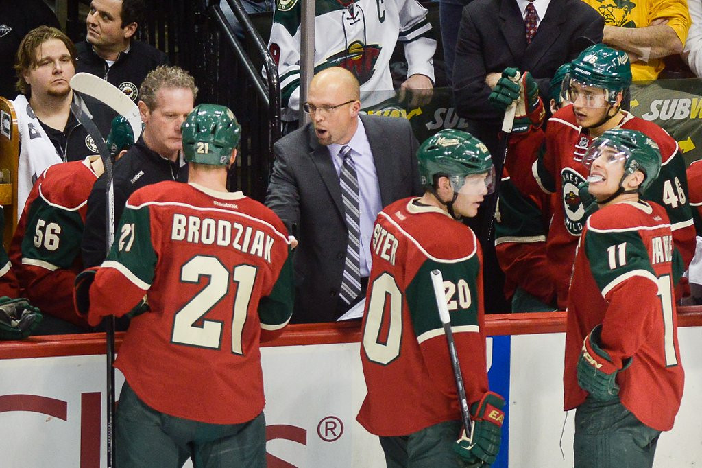 ". <p>7. (tie) MINNESOTA WILD <p>Not much has changed, but the guy behind the bench will be.   <p><b><a href=\'http://www.twincities.com/sports/ci_24837562/tom-powers-wilds-win-buys-mike-yeo-another\' target=""_blank\""> HUH?</a></b> <p>    (Pioneer Press: Ben Garvin)"