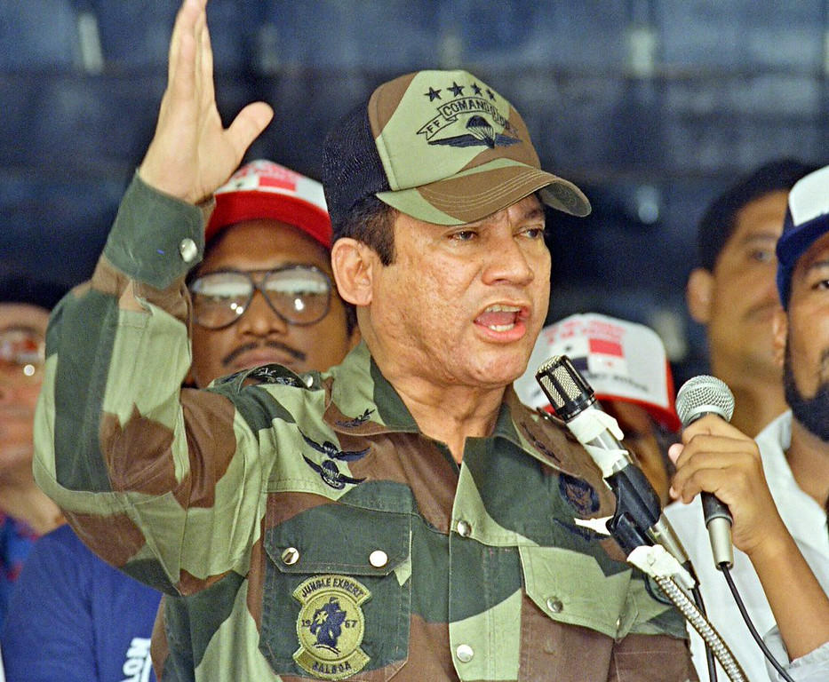 """. <p><b> Former Panamanian dictator Manuel Noriega is suing a video game maker, claiming his likeness was used without his permission in  � </b> </p><p> A. Call of Duty, Black Ops II </p><p> B. Halo 4 </p><p> C. My Little Pony </p><p><b><a href=\""""http://artsbeat.blogs.nytimes.com/2014/07/16/noriega-sues-video-game-maker-over-portrayal-in-call-of-duty/\"""" target=\""""_blank\"""">LINK</a></b> </p><p>   (Angel Murillo/AFP/Getty Images)</p>"""
