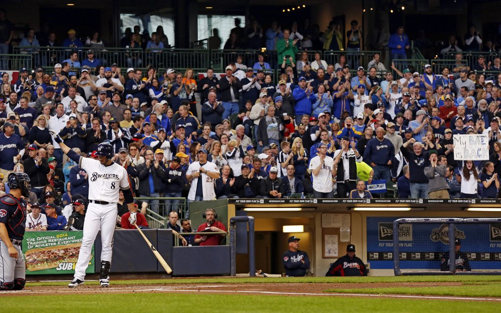 """. <p>1. RYAN BRAUN <p>Wisconsin fans give Steroid Boy a standing ovation, as they would for other Cheesehead heroes like Jeffrey Dahmer and Ed Gein. (unranked) <p><b><a href=\'http://www.nydailynews.com/sports/baseball/braun-standing-ovation-return-drug-ban-article-1.1740964\' target=\""""_blank\""""> HUH?</a></b> <p>   <p>OTHERS RECEIVING VOTES <p> National Invitation Tournament, Josh Elliott, ocean garbage, �Chelsea Lately�, Andrew Wiggins, Oakland Coliseum sewage, Pat Boone, North & South Korea, Pam Borton, Rick Adelman, earthquakes, Opening Day, Stephen Colbert, Ray Rice, Rick Pitino, Chris Culliver, Steven Seagal, Bill Murray, Philadelphia 76ers, Glen Taylor, Chris Christie, Michigan State Spartans & Michigan Wolverines, Lululemon, St. Cloud State Huskies, Ratzilla, Facebook drones, Minnesota Orchestra, Times New Roman, Piers Morgan. <p> <br><p> You can follow Kevin Cusick at <a href=\'http://twitter.com/theloopnow\'>twitter.com/theloopnow</a>.   (AP Photo/Jeffrey Phelps)"""