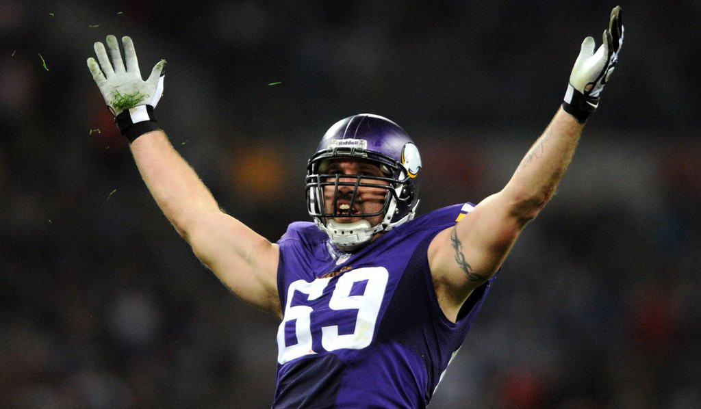 ". <p>1. JARED ALLEN <p>When you�re THIS far from getting what you want, you begin the I�ll Retire pout. (unranked) <p><b><a href=\'http://nfl.si.com/2014/03/12/jared-allen-retirement-2014-nfl-free-agency/?eref=sihp\' target=""_blank\""> HUH?</a></b> <p>   <p>OTHERS RECEIVING VOTES <p> Potholes, Floyd Mayweather, Lindsay Lohan�s �conquest� list, Kris Medlen, Chris Pine, David Jolly, DeMarcus Ware, Julius Peppers, Malaysia Airlines Flight 370, Miley Cyrus, Pat Garofalo, Joel Embiid, �Cosmos�, Lady Gaga, Barry Bonds, Justin Bieber, Rachel Canning, Juan Pablo Galavis, Darrelle Revis, Vancouver Canucks, glucosamine, Central Intelligence Agency, Santonio Holmes, Oscar Pistorius, Kim Jong-Un, Phil Jackson, George Zimmerman, Tiger Woods, Rich Peverley, Dennis Rodman, Sbarro. <p> <br><p><i> You can follow Kevin Cusick at <a href=\'http://twitter.com/theloopnow\'>twitter.com/theloopnow</a>.</i>    (Pioneer Press: Chris Polydoroff)"
