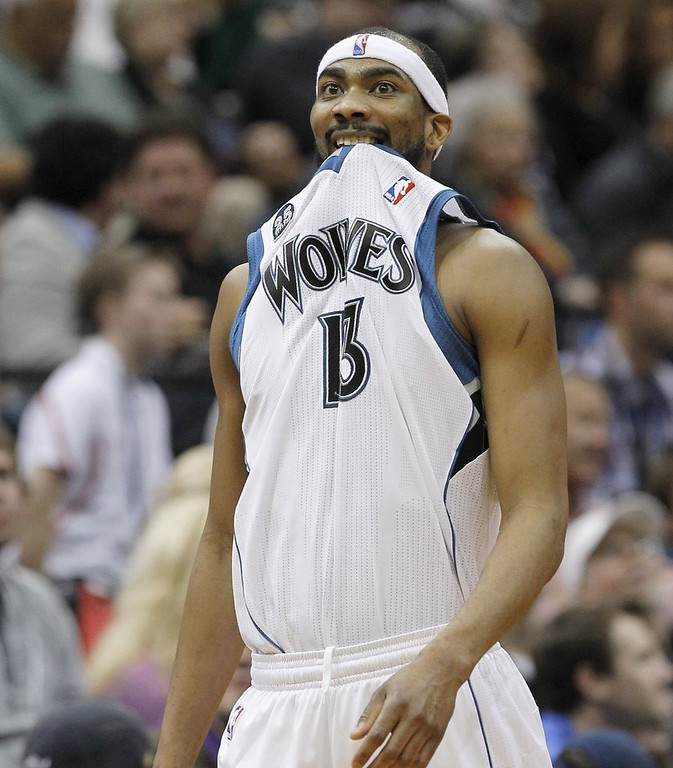 """. <p>4. (tie) COREY BREWER <p>You don�t have the slightest idea how he scored 51 points, and neither does he. (unranked) <p><b><a href=\'http://www.twincities.com/timberwolves/ci_25550328/timberwolves-corey-brewer-scores-franchise-record-51-win\' target=\""""_blank\""""> HUH?</a></b> <p>    (AP Photo/Ann Heisenfelt)"""