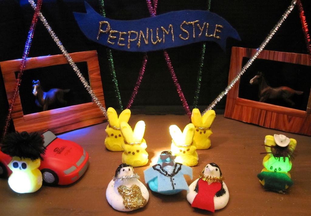 ". \""Peepnum Style,\"" by Allison Quinn, Minneapolis"