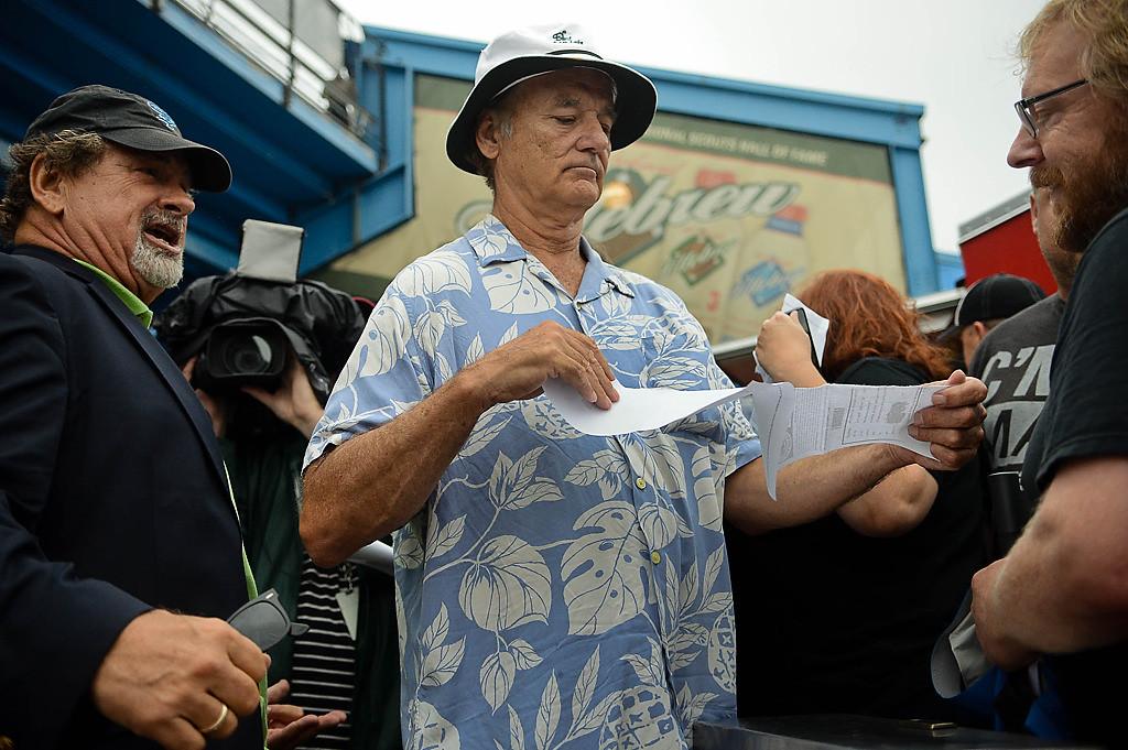 . Bill Murray worked as a ticket taker. (Pioneer Press: Ben Garvin)