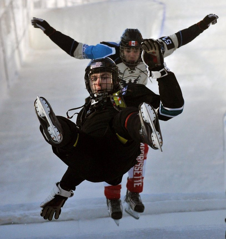 """. <p>4. (tie) CRASHED ICE <p>No less of a sport than half of the X Games dreck in the Winter Olympics. (3) <p><b><a href=\'http://www.twincities.com/localnews/ci_25194637/red-bull-crashed-ice-competitors-gear-up-challenging\' target=\""""_blank\""""> HUH?</a></b> <p>    (Pioneer Press: Chris Polydoroff)"""