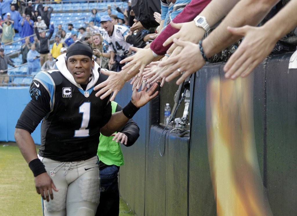 . <p><b> Panthers at Falcons (+6½):</b>  <p>Cam Newton and his teammates did not celebrate their clinching of a playoff berth last week because �the work is not done.� They still will have to step over the Falcons after last year�s No. 1 seed lays down for the 12th time.  <p>Pick: <b>Panthers by 10</b> <p>    (AP Photo/Bob Leverone)